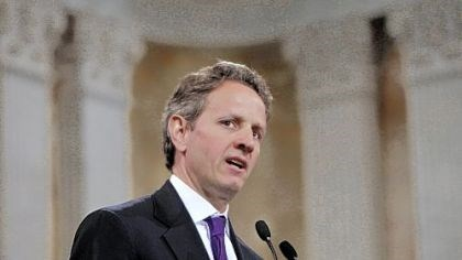 Timothy Geithner Treasury Secretary Timothy Geithner