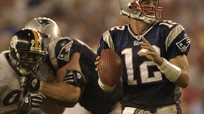 Tom Brady Patriots quarterback Tom Brady has a career record of 5-1 against the Steelers.
