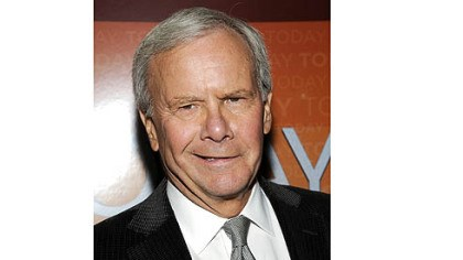 Tom Brokaw Tom Brokaw -- Became lightheaded at Democratic National Convention.