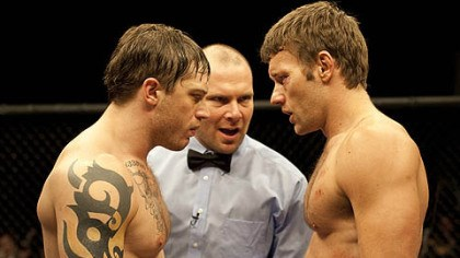 "Tom Hardy and Joel Edgerton Tom Hardy, left, and Joel Edgerton star as brothers Tommy and Brendan in ""Warrior,"" a movie made in Pittsburgh that was released last year."