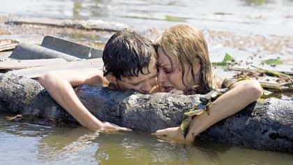 "Tom Holland and Naomi Watts Tom Holland and Naomi Watts in ""The Impossible."""