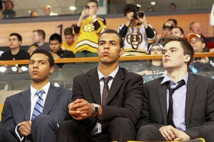 Top NHL draft prospects Top NHL draft prospects Seth Jones, Darnell Nurse and Jonathan Drouin.