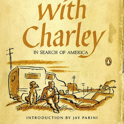"'Travels with Charley' ""Travels with Charley"" by John Steinbeck (50th anniversary edition)."