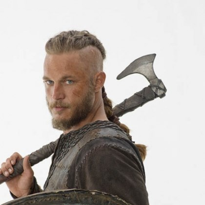 "Travis Fimmel as Ragnar Lothbrok History's new scripted series ""Vikings"" debuts March 3. Travis Fimmel stars as Ragnar Lothbrok."