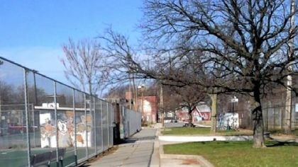tress Manchester Playground on North Franklin Street is among the areas that will be inventoried this winter and spring.