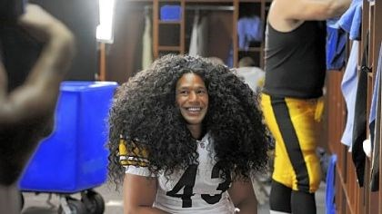 Troy Polamalu's hair Troy Polamalu's hair ranked fourth nationwide for wig searches on Yahoo.