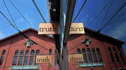 truth The former Cafe Allegro on the South Side is now home to Truth, a lounge/wine bar/restaurant.