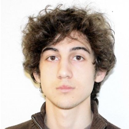 tsarnaev handout Dzhokar Tsarnaev, one of the suspects in the Boston Marathon bombing, was indicted today on charges including using a weapon of mass destruction.