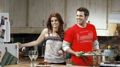 "TV review: ""Better With You"" Joanna Garcia and Jake Lacy are part of the cast of the new NBC sitcom ""Better With You."""