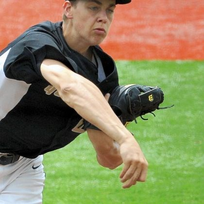 Tyler Garbee Quaker Valley's Tyler Garbee pitches against Beaver in the PIAA semifinals Monday afternoon.