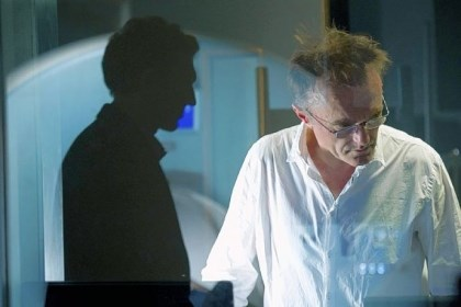 "Vincent Cassel and director Danny Boyle Vincent Cassel and director Danny Boyle on the set of ""Trance."""