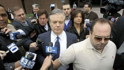 Vincent Fumo Vincent Fumo walks out of federal court in Philadelphia yesterday.