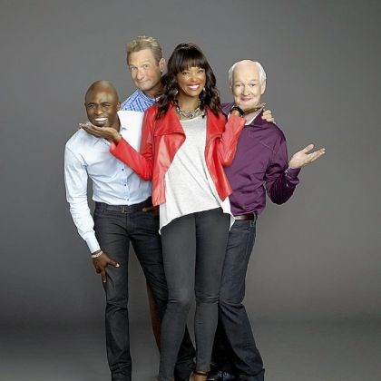 "'Whose Line Is It Anyway?' Wayne Brady, Ryan Stiles, Aisha Tyler and Colin Mochrie appear in the new ""Whose Line Is It Anyway?"" on The CW. The show originally aired on ABC from 1998-2006."