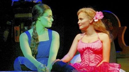 """Wicked: The Life and Times of the Wicked Witch of the West"" Gregory Maguire's book ""Wicked: The Life and Times of the Wicked Witch of the West"" evolved into the Broadway musical hit ""Wicked,"" starring Idina Menzel, left, and Kristin Chenoweth."