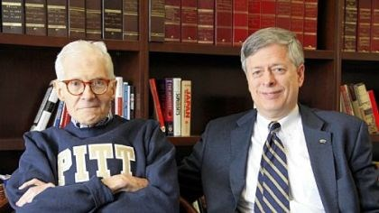 William S. Dietrich II William S. Dietrich II, left, with University of Pittsburgh chancellor Mark Nordenberg on Thursday, the day Pitt announced a record-setting gift of $125 million from Mr. Dietrich, a Pitt alumnus and board member and a former steel executive.