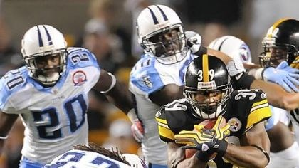 Willie Parker Steelers running back Willie Parker ran for 19 yards last week versus the Titans.
