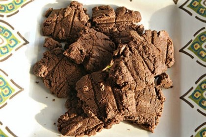 Wolfgang Puck's Chocolate Shortbread Wolfgang Puck's Chocolate Shortbread.