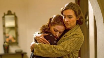 "Wood and Winslet in ""Mildred Pierce"" Evan Rachel Wood and Kate Winslet portray daughter and mother in ""Mildred Pierce."""