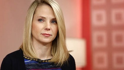 Yahoo Inc. CEO Marissa Mayer Yahoo Inc. CEO Marissa Mayer