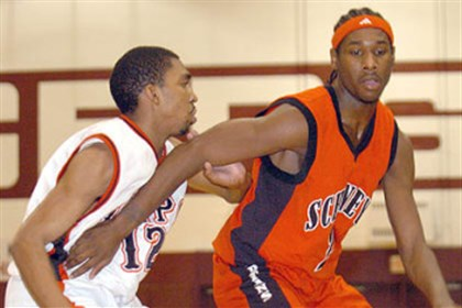 Deandre Kane Deandre Kane in red during his days at Schenley.