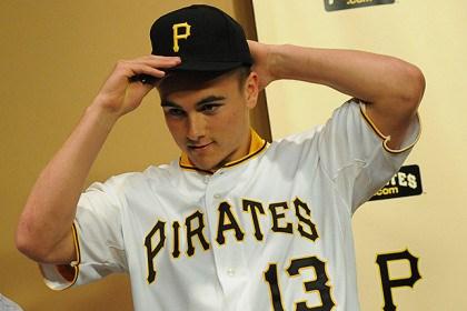 Pirates prospect McGuire hopes to reach major league status soo…