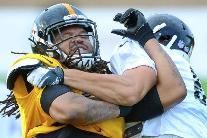 Jarvis Jones Jarvis Jones, shown here fighting through a block during training camp, had his first career sack Sunday against Buffalo.