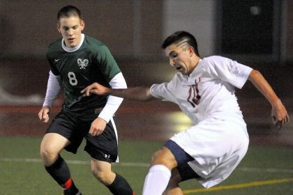 kiernan Upper St. Clair all-state senior midfielder Troye Kiernan, at right, is the PG's boys soccer player of the year.