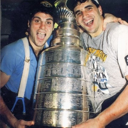 tocchet In 1992, Kevin Stevens, right, Rick Tocchet and the Penguins swept the Boston Bruins in the conference final before winning the Stanley Cup against the Chicago Blackhawks.