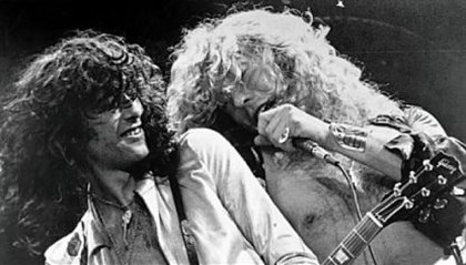 Jimmy Page and Robert Plant Jimmy Page, left, and Robert Plant of Led Zeppelin.