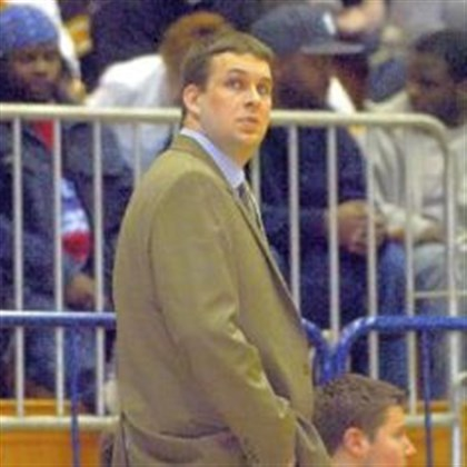 ackermann0331 Moon basketball coach Jeff Ackermann led the Tigers to three consecutive WPIAL championships before a few tough seasons.