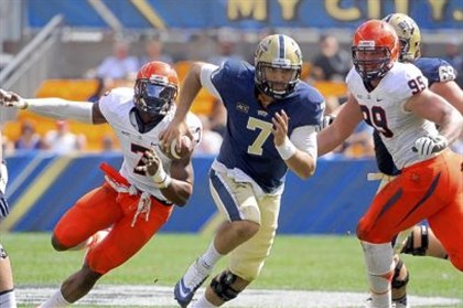 savage1123 Tom Savage leads Pitt into the Carrier Dome today as the Panthers continue their rivalry with Syracuse in the ACC.