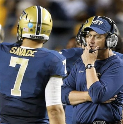 cook1030 Pitt's Paul Chryst is just one of three local college football coaches struggling this season.