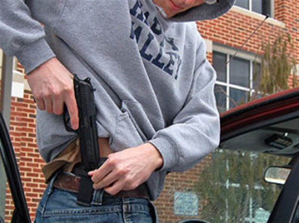 the issues surrounding the concealed weapon permit in college campuses
