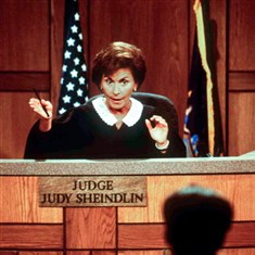 """Judge Judy"" ""Judge Judy,"" with Judge Judy Sheindlin presiding, leads court reality shows in ratings."