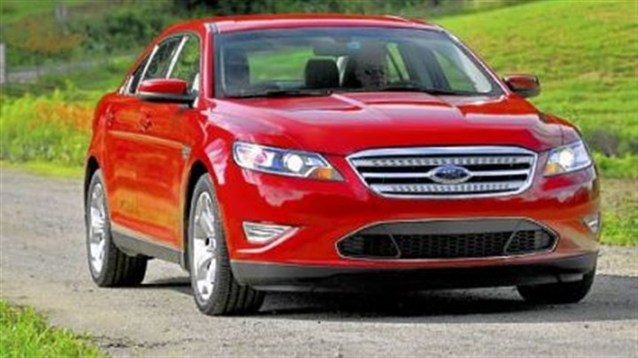 2010 Ford Taurus SHO The 2010 Ford Taurus SHO, which is short for Super High Output, is the performance version of Ford Motor Co.'s flagship Taurus sedan.
