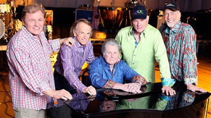 2012 Beach Boys The 2012 Beach Boys: From left, Bruce Johnston, Al Jardine, Brian Wilson, Mike Love and David Marks.