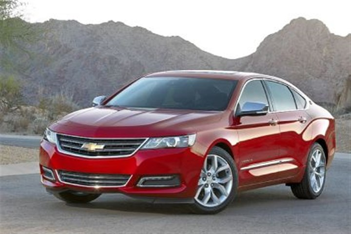 2014 Chevrolet Impala The restyled 2014 Chevrolet Impala is definitely more attractive than the model it replaces. Handling and performance kick up a notch as well.