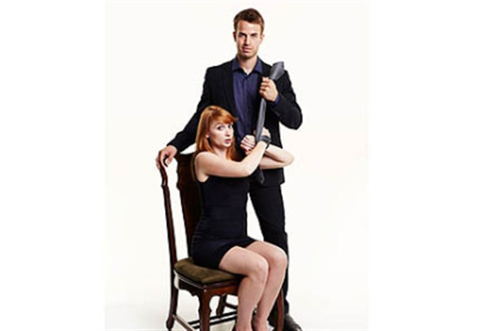 "50 Shades parody ""Spank! The Fifty Shades Parody"" gets naughty and nice at the Byham Theater."