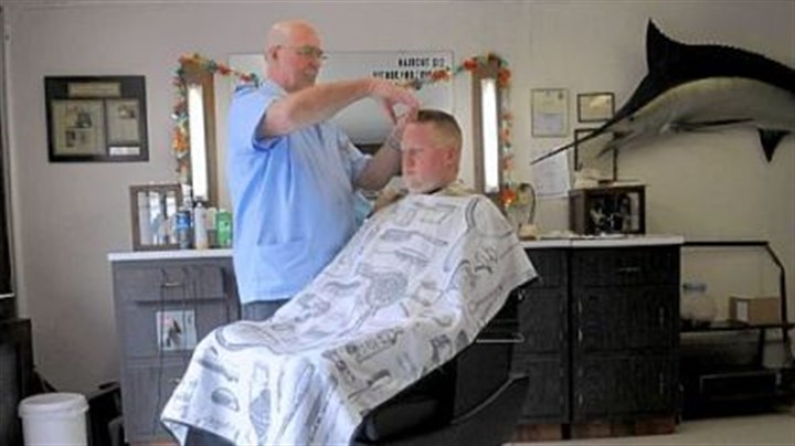 Barber Shop Forest Hills : ... barber shop in Forest Hills March 25. Richard retired Saturday after