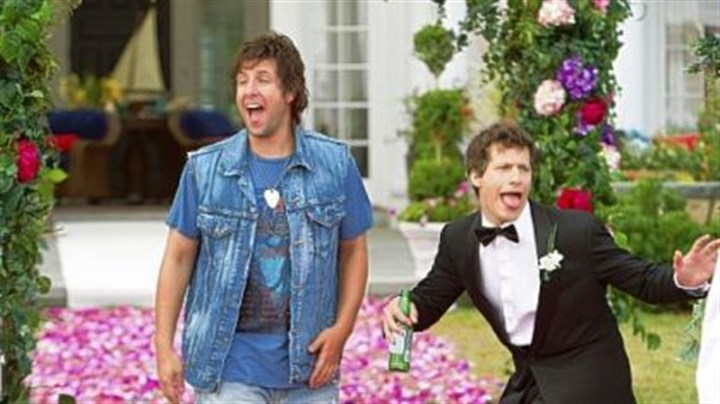 Adam Sandler and Andy Samberg Adam Sandler and Andy Samberg in 'That's My Boy.'
