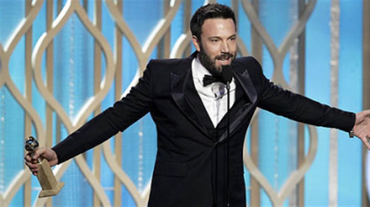 "Affleck wins Ben Affleck wins the award for best director for ""Argo"" during the 70th Annual Golden Globe Awards."
