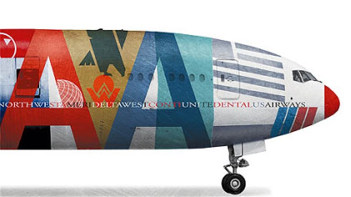 Airline illustration A growing tide of steep fares, consolidations and bankruptices has the airline industry on edge.