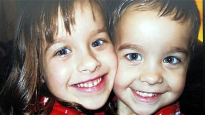 Ambrusko children The Ambrusko children, Kate, 6, and Peter, 4, who died in a car accident in April.