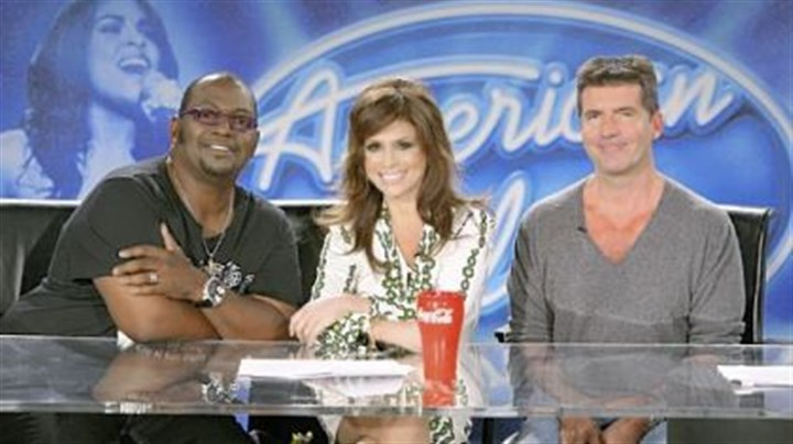 """American Idol"" From left, ""American Idol"" judges Randy Jackson, Paula Abdul and Simon Cowell."