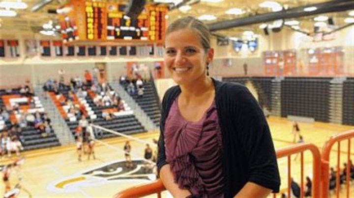 Amy Scheuneman Amy Scheuneman, 32, is in her seventh year as athletic director at Bethel Park High School, which recently opened its new gymnasium.