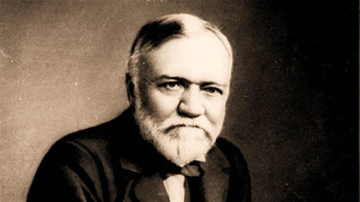 Andrew Carnegie Steel magnate Andrew Carnegie in an undated file photo.