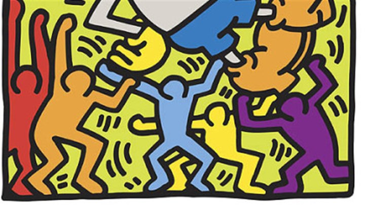 """Andy Mouse"" ""Andy Mouse,"" painted by the late Keith Haring in 1986, is among a large selection of his works at The Andy Warhol Museum."