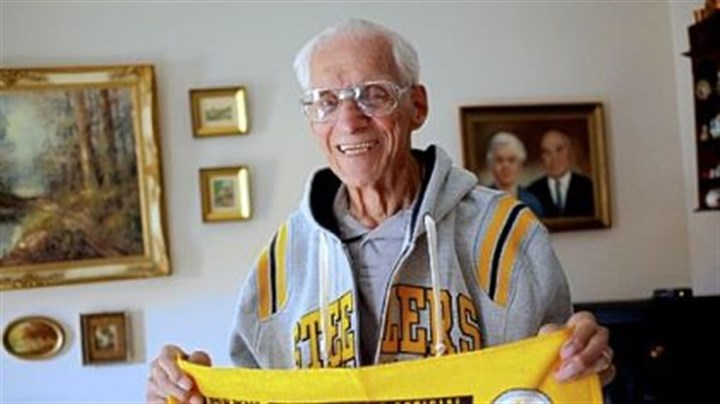 Angelo Cammarata Angelo Cammarata bought Steelers tickets from Art Rooney Sr. in 1933 and has had season tickets ever since. Mr. Cammarata, 98, will be recognized at Sunday's game.