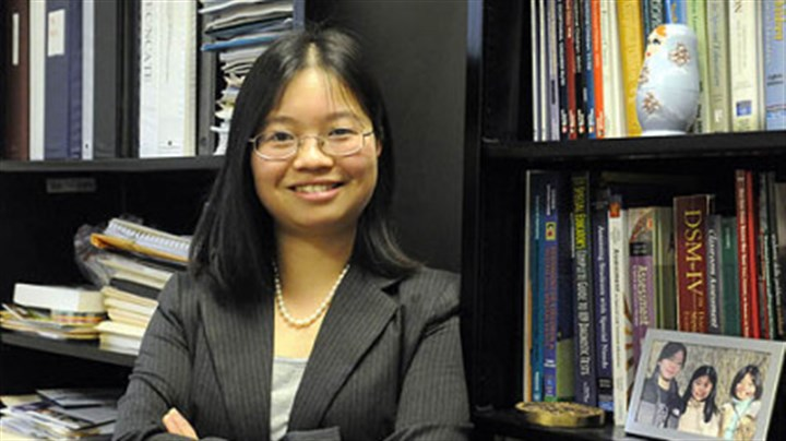 Ann X. Huang Ann X. Huang, a Duquesne University professor, runs a program that helps prepare people with autism for work.
