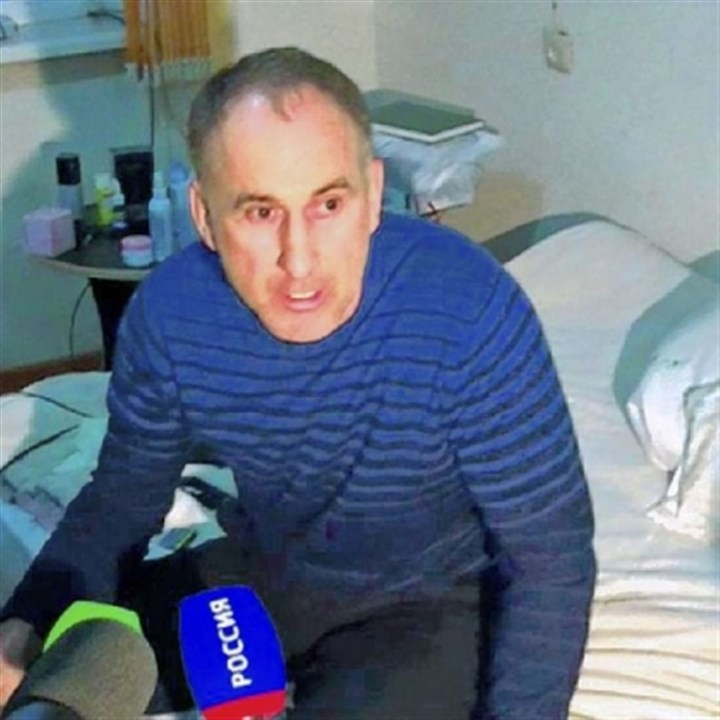 Anzor Tsaraev The suspects? father, Anzor Tsaraev, speaks in his home in the Russian city of Makhachkala.